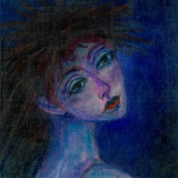 <h5>Punk Girl</h5><p>Acrylic on Board (giclee print available)</p>