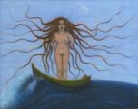 <h5>Sea Goddess</h5><p>Acrylic on Board (giclee print available)</p>