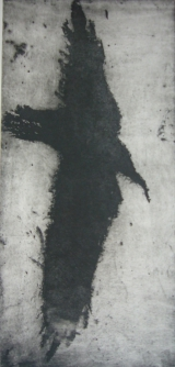<h5>As The Crow Flies</h5><p>Etching & Aquatint 34cm x 17cm</p>