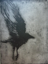 <h5>Night Flight</h5><p>Etching 61cm x 45cm</p>