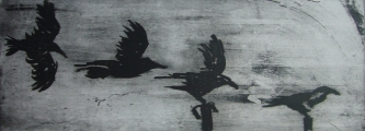 <h5>Perfect Landing</h5><p>Etching & Aquatint 22cm x 61cm</p>