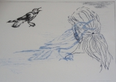 <h5>Moment of Inspiration</h5><p>Drypoint 20cm x 30cm</p>